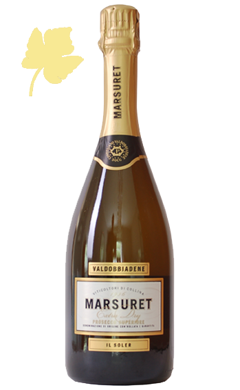 "Prosecco Spumante Extra Dry ""Il Soller"" - Marsuret"
