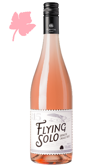 Flying Solo Rosé 2017 - Domaine Gayda