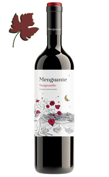 Menguante Roble Tempranillo 2017 - Vinedos y Bodegas Pablo
